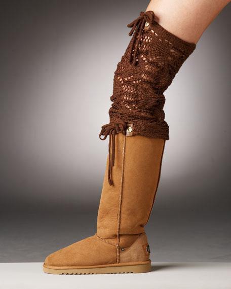 Convertible Crochet Boot