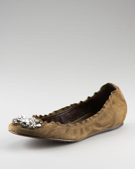Marlo Jeweled Ballerina Flat