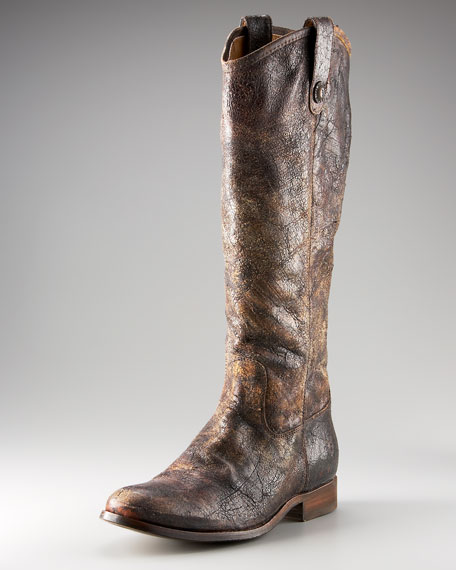 Melissa Distressed Leather Boot