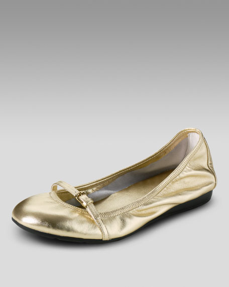 Air Tali Mary Jane Ballerina Flat, Gold