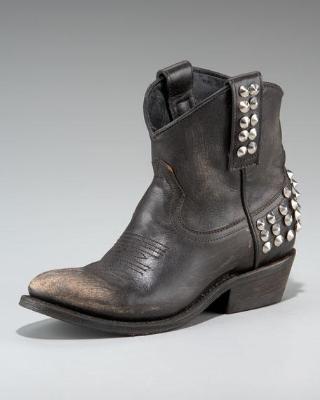 Studded Short Boot