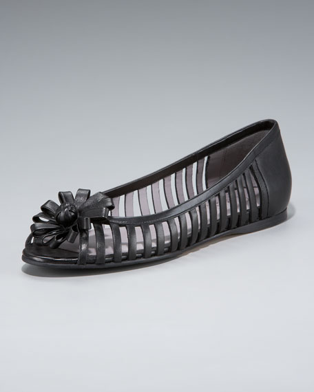 Air Rori Open-Toe Ballet Flat