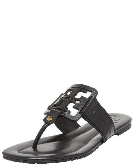 Miller Flat Thong Sandal, Black