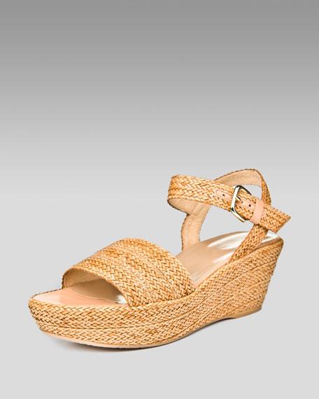 Lanlard Platform Sandal