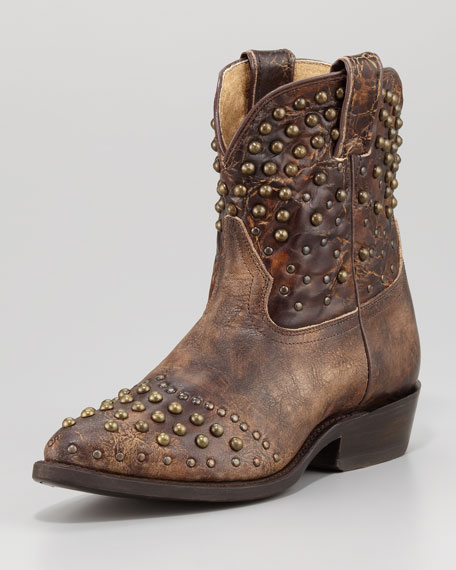 Billy Studded Short Boot