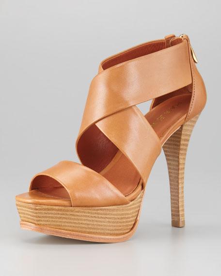 Tifara Crisscross Platform Sandal