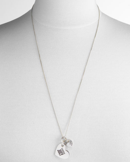 Dog Tag Couture Necklace