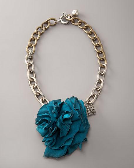 Collier Fleur Brule Necklace