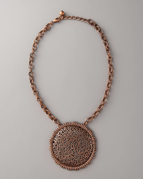 Sardinia Copper-Plated Necklace