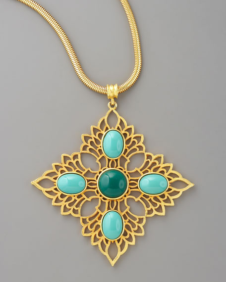 Morocco Stone Necklace