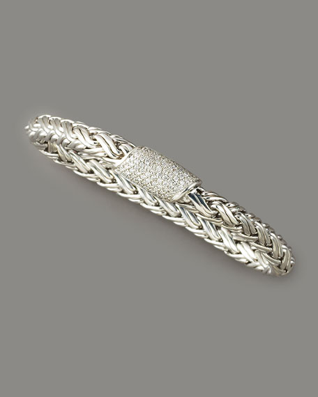 Classic Chain Diamond Bracelet, Medium