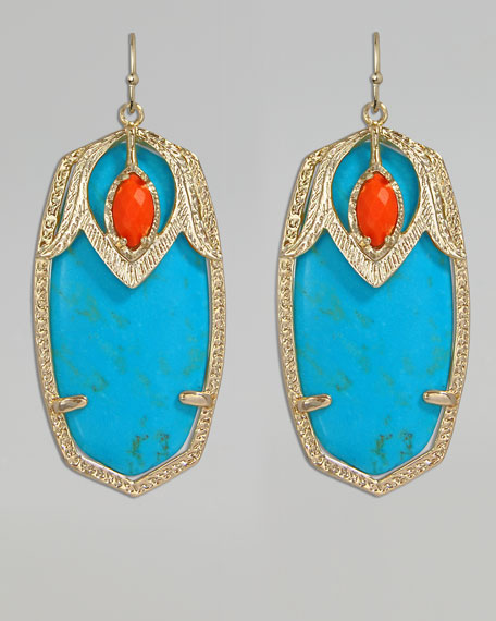 Darby Shield Earrings