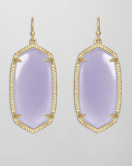 Elle Earrings, Lilac