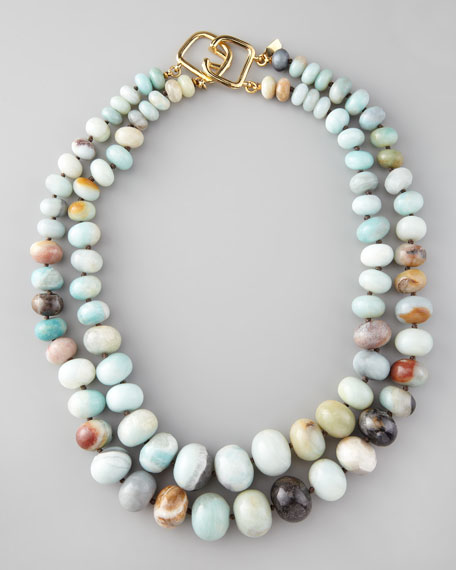 Graduated Amazonite Necklace