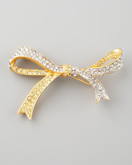 Pave Bow Pin