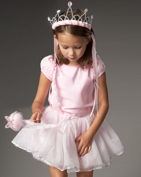 Fairy Ballerina Costume & Duffel Bag Set