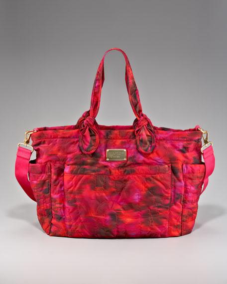 Pretty Eliza Baby Bag, Kava Green Multi