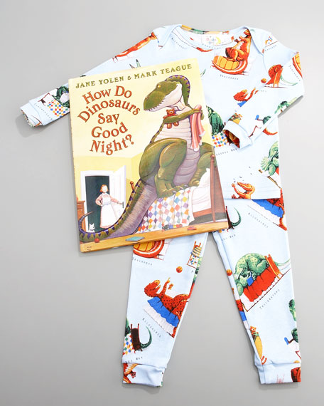 How Do Dinosaurs Say Goodnight? Pajama and Book Set, Infant
