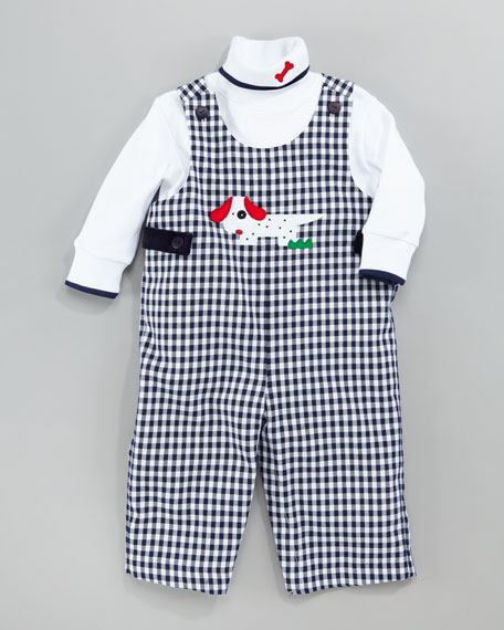 Spotted Dog Jumper and Turtleneck Set, 3-9 Months