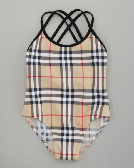 Classic Check Swimsuit