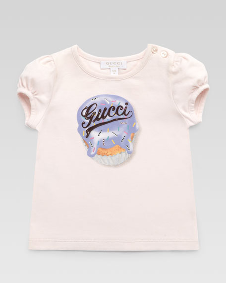 Gucci Cupcake Short-Sleeve Tee