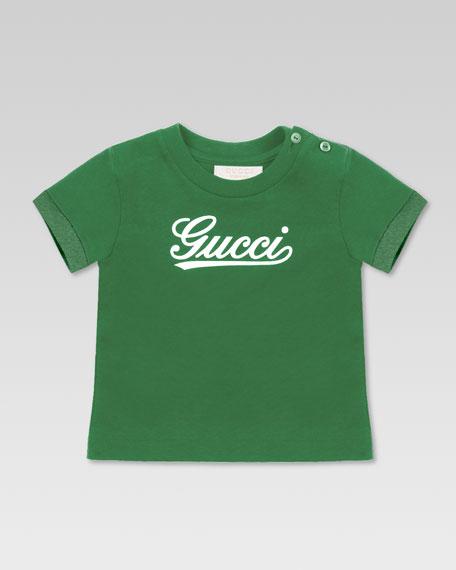 Gucci Script Tee, Green