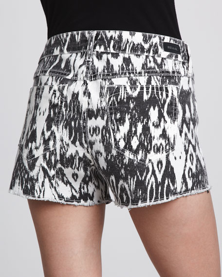 Reversible Shorts, Ikat