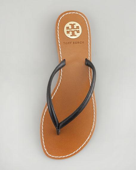 Abitha Leather Flip-Flop