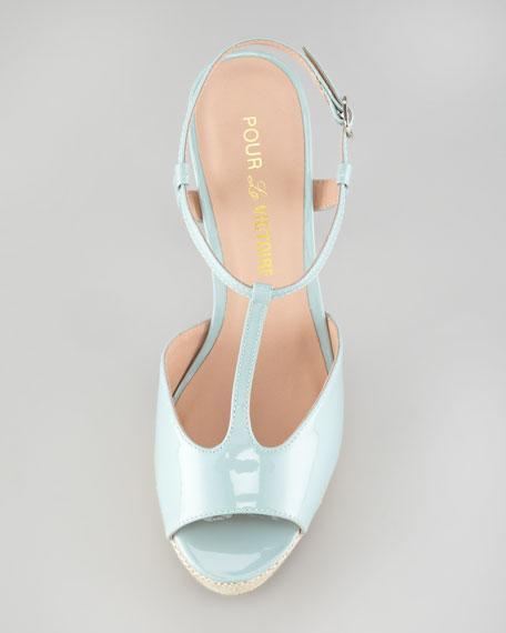 Vicenta Platform T-Strap Sandal