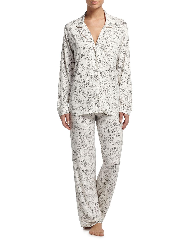 Eberjey Sleep Chic Printed Pajama Set   Neiman Marcus 64271306688