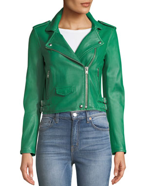 0c1b90d3d3e Leather Jackets & Coats for Women at Neiman Marcus