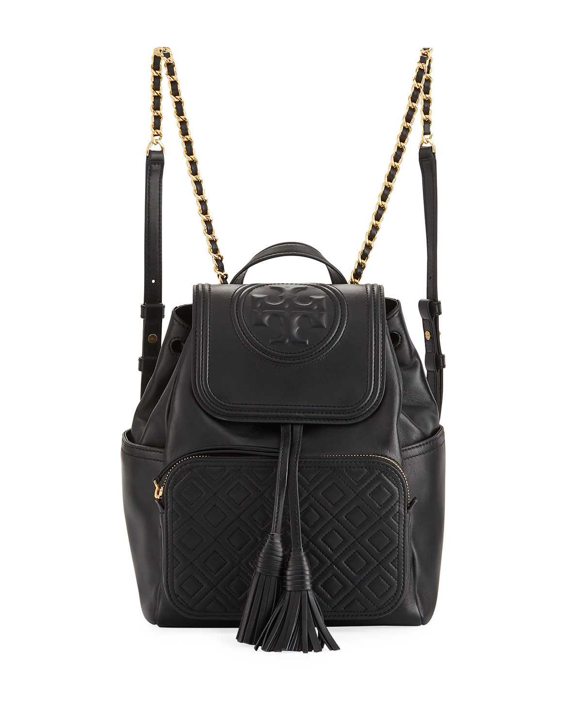 f165ad3c808 Tory Burch Fleming Leather Backpack