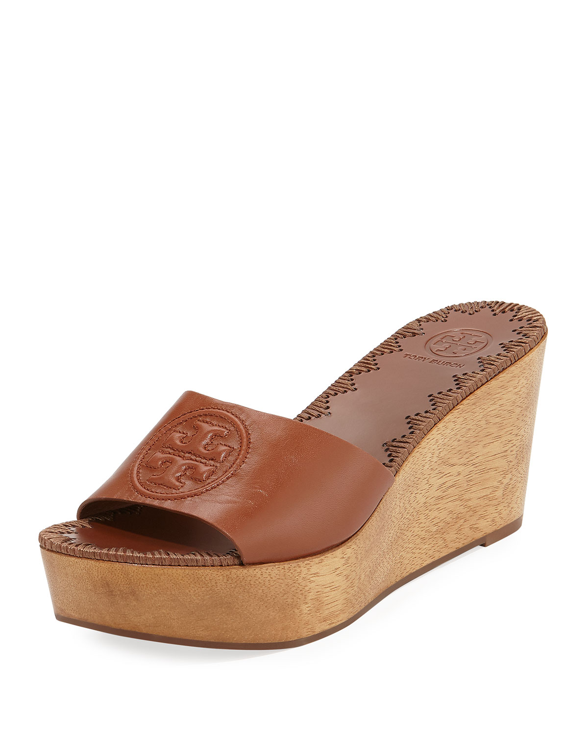 2efa0240de6cb1 Tory Burch Patty Platform Wedge Slide Sandal