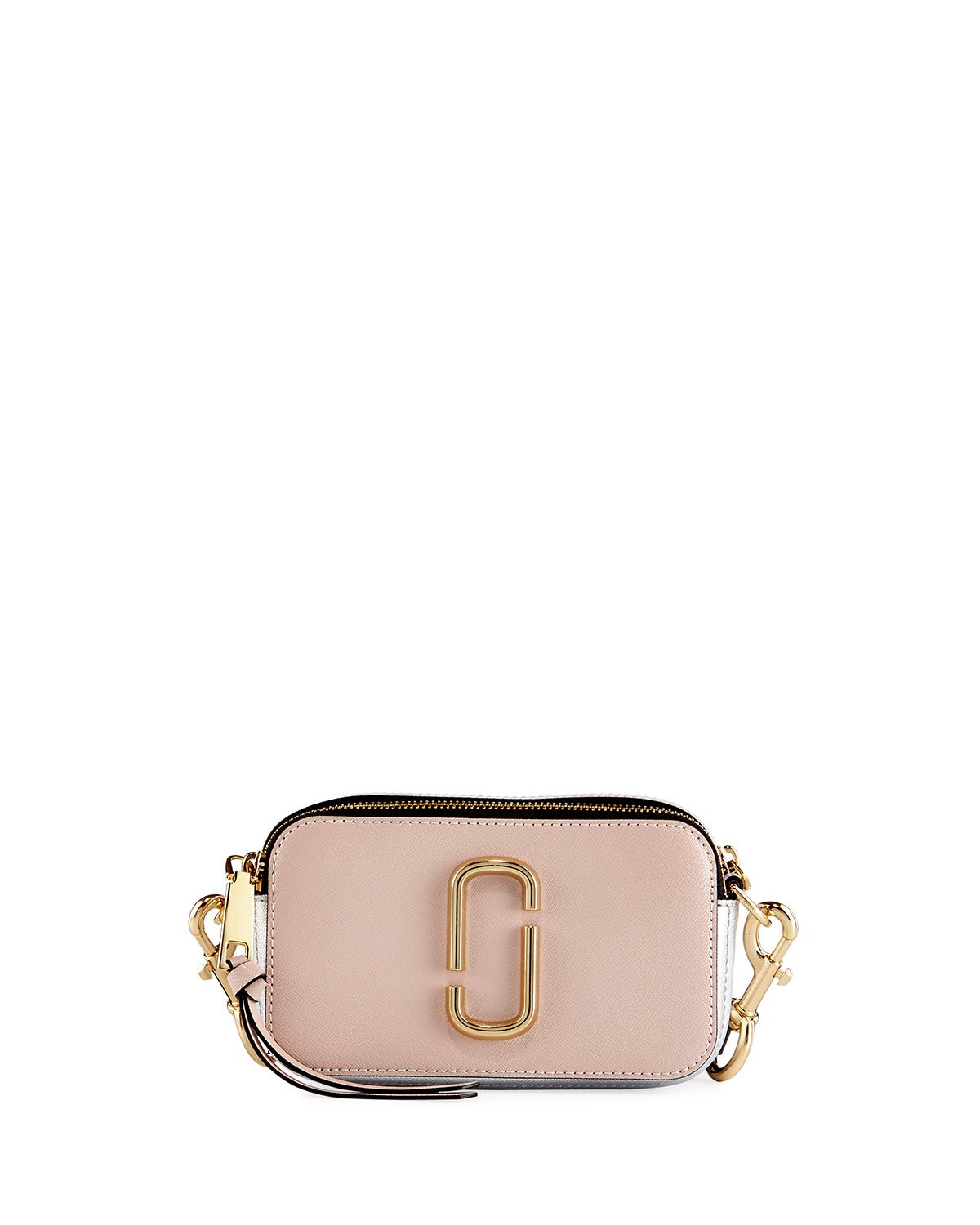5fa7f5fdc6b2 Marc Jacobs Snapshot Colorblock Leather Camera Bag