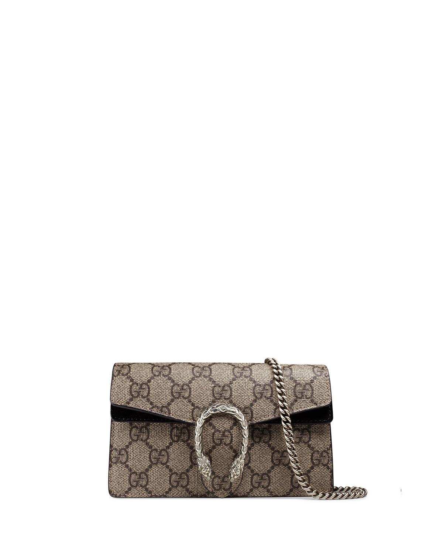 ac992ec4738 Gucci Dionysus GG Supreme Super Mini Bag | Neiman Marcus