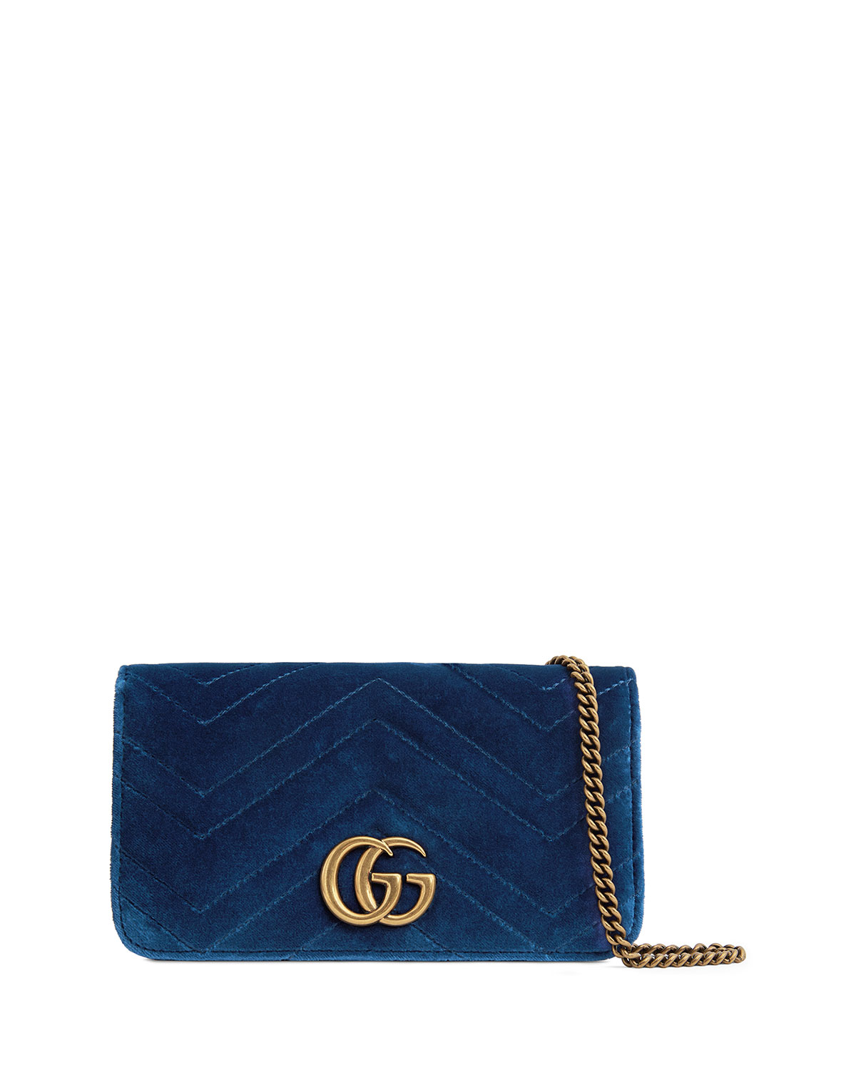 be2be8fd10bb Gucci GG Marmont Velvet Crossbody Bag | Neiman Marcus