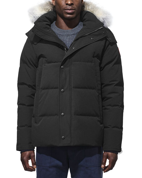 Canada Goose Men's Wyndham Fusion-Fit Down Parka with