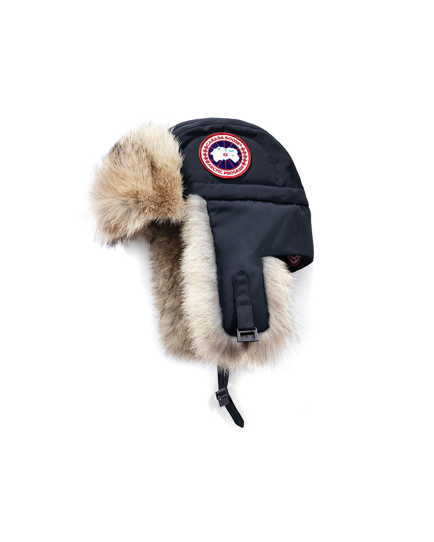 aa71adb74f3f5 Canada Goose Coyote-Fur Aviator Hat