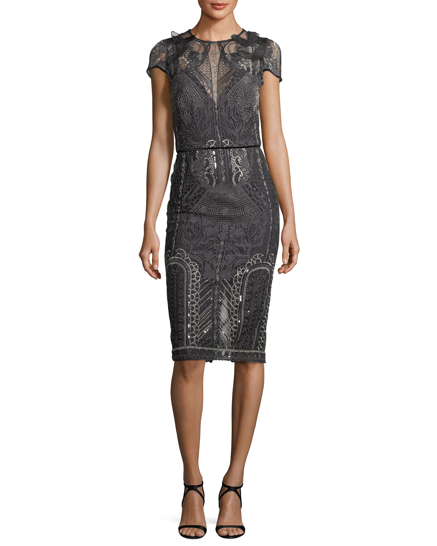 Gray Dress   Neiman Marcus