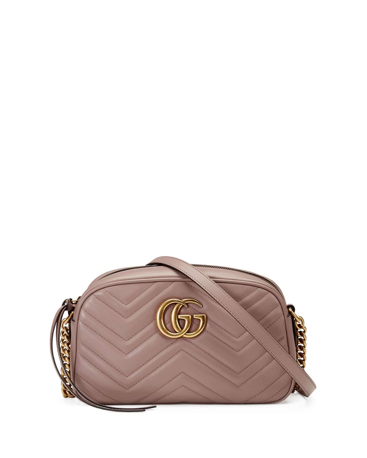 c90eba43b515 Gucci GG Marmont Small Quilted Camera Bag | Neiman Marcus