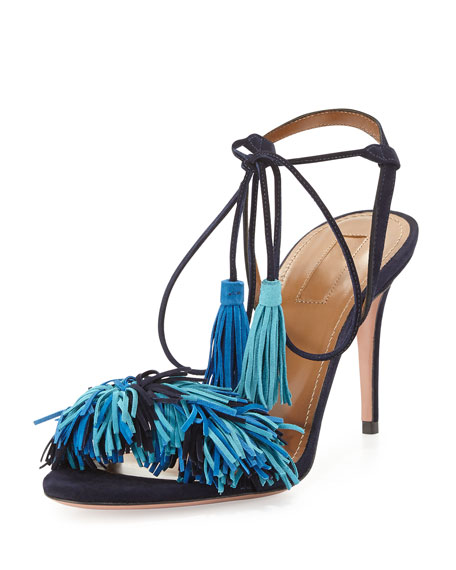 Wild Thing Suede 85mm Sandal