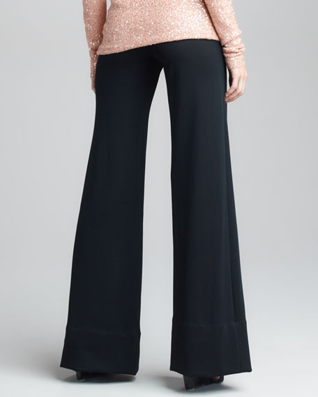 Crepe Double-Jersey Body Pant V