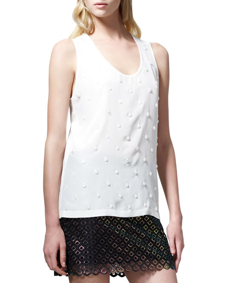 Embroidered Racerback Tank