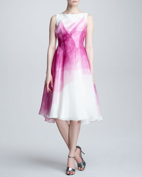 Kaleidoscope Organza Dress