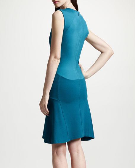 Stella McCartney Paneled Dropped Waist Dress