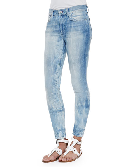 Ralph Lauren Black Label 400 Matchstick Distressed Denim