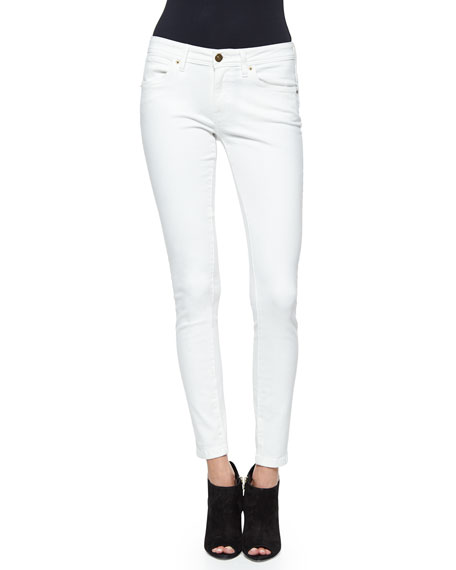 Burberry Brit Denim Skinny Jeans, White