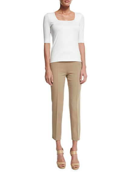 Franca Elements Slim-Leg Ankle Pants
