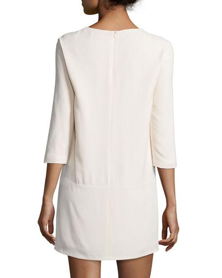 Marina 3/4-Sleeve Dress with Pockets