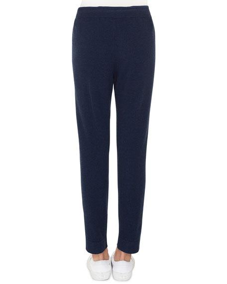 Akris Drawstring Cashmere-Silk Lounge Pants